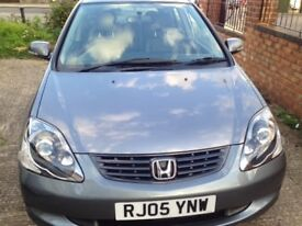 HONDA CIVIC 1.6 AUTO EXECUTIVE, FULL BLACK LEATHER INTERIOR, 1 YEAR MOT, ONLY 54,000 MILES