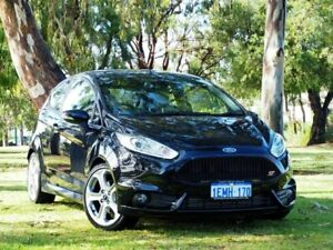 2013 Ford Fiesta WZ ST Black 6 Speed Manual Hatchback Myaree Melville Area Preview