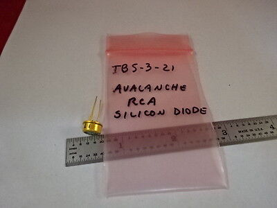 OPTICAL AVALANCHE RCA SILICON DIODE LASER OPTICS AS IS B#TB5-3-21