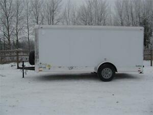 """14' CARGO TRAILER WITH 12"""" EXTRA HEIGHT Prince George British Columbia image 1"""