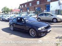 2002 (52 Reg) BMW M3 3.2 M3 SMG Sequetial 2DR Coupe BLACK + 338 BHP