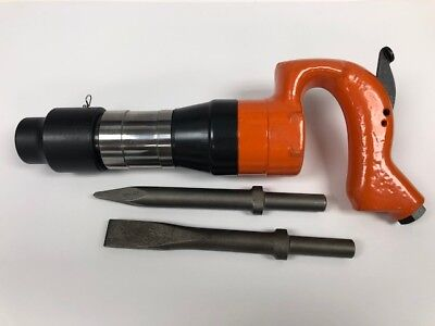Pneumatic Air Chipping Hammer 2 Stroke 652 R New 2 Bits