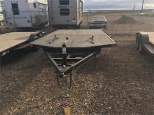 16FT SLED TRAILER DOUBLE A