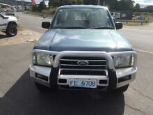 2004 Ford Courier PH XLT (4x4) Blue 5 Speed Manual Crewcab Spreyton Devonport Area Preview