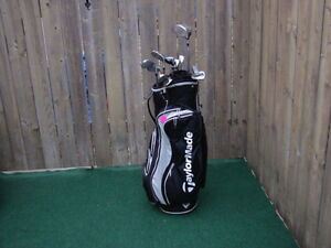 Men's Left hand Golf sets Taylormade with Taylormade golf bag