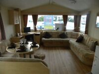 Large 8 Berth Caravan Holiday Home FREE DECKING Refurbished-BORTH, Aberystwyth, West Wales Not Haven
