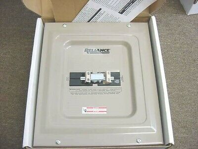 Reliance Controls Tca Panellink Manual Transfer Panel 2 Pole Tca1005d New