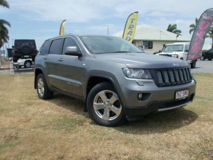 2012 Jeep Grand Cherokee WK MY2013 Laredo Tungsten 5 Speed Sports Automatic Wagon