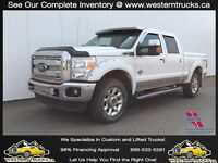 2011 Ford F350 Lariat FX4 Diesel Sunroof Leather Great Financing