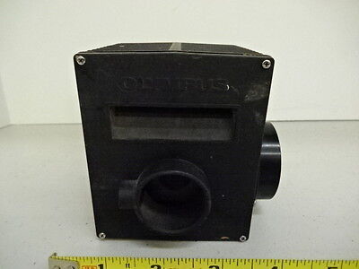For Parts Microscope Lamp Housing Olympus Japan Without Optics As Is Ak-19