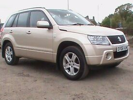 SUZUKI GRAND VITARA 1.9 DDIS 5 DOOR BEIGE CAMBELT KIT JUST REPLACED 1 YEARS MOT