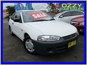 2003 Mitsubishi Mirage CE White 4 Speed Automatic Hatchback Minto Campbelltown Area Preview