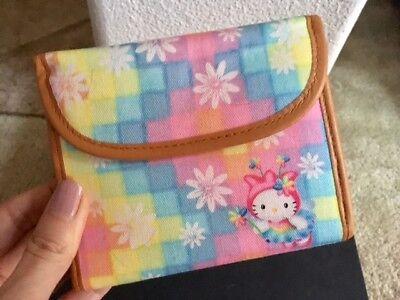 Authentic Sanrio Hello Kitty TULIP FAIRY Pastel Rainbow Wallet NEW