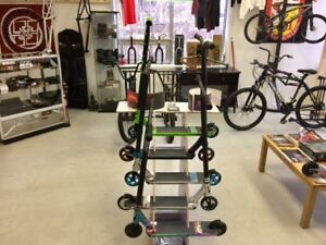 NEW Pro Scooters & PARTS..FREE STICKERS..@..Sam's Scooter Shop.