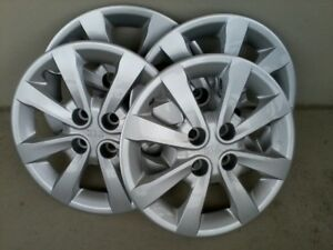 "Kia Rio 15"" Wheel Covers with Wheel Locks"