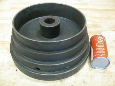 Antique Hit Miss Gas Steam Engine Line Shaft Flat Belt Lathe Step Pulley 12.5