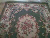 Large Oriental design rug by Peking 160 x 225 excellent condition.