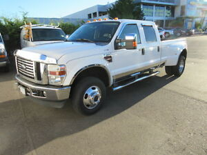 ** 2008 ** FORD ** F-350 ** LARIAT ** DUALLY ** DIESEL ** 4WD **