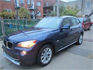 2012 BMW X1 28I AWD/ FINANCEMENT MAISON 69$ SEMAINE AUDI Q5