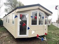 Cheap double glazed centrally heated caravan for sale, pet friendly,fishing lake,facilities for all