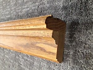 Oak Mantle / Plate Rail/ Display rail - Custom Made