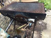 Used Oil Drum Barbecue