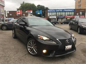 2014 Lexus IS 250, BACK UP CAM, HEATED STEERING, SUNRF - REDUCED