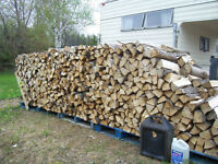 Well seasoned firewood - all hardwood