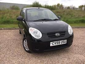 Kia Picanto 1.0 2009/59 Picanto 1 *ONLY 40K MILES, NEW MOT, LOW TAX*