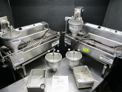 Donut Fryer Machine 2 Belshaw Mark Ii Donut Robots  6800 Nice