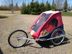 Chariot CTS 2 child Bike trailer. Stroller. Jogger