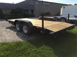 END OF YEAR BLOW OUT SALE! Canada Trailer 7x20 Car Hauler