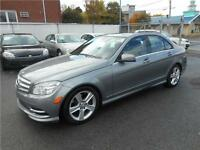 MERCEDES-BENZ C300 4 MATIC 2011 ( BLUETOOTH,TRACTION INTÉGRALE )