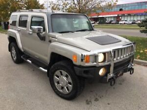 2007 HUMMER H3 NAVI NO ACCIDENT PREM PKG SUNROOF LEATHER CHROME