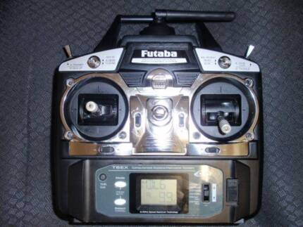 Futaba 6EX RC Transmitter with Battery. All in excellent