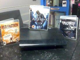 PS3 + 3 Games