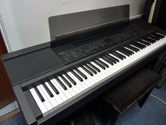 yamaha clavinova cvp 8 electric piano 88 key weighted keyboard in northampton. Black Bedroom Furniture Sets. Home Design Ideas