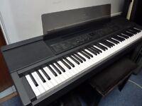 YAMAHA CLAVINOVA CVP-8 ELECTRIC PIANO - 88-KEY WEIGHTED KEYBOARD