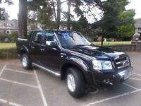 FORD RANGER 3.0 THUNDER 4X4 LWB D/C 1d AUTO 156 BHP FOR FINANC (black) 2009