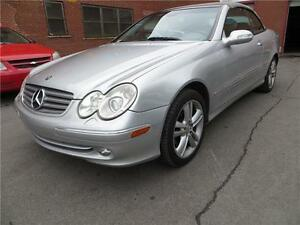 2004 MERCEDES BENZ CLK 320 DÉCAPOTABLE TEL: 514-568-0581