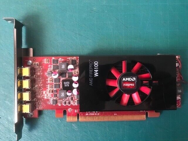 Carte graphique amd firepro w4100 - 2g