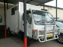 2002 Isuzu NPS NY White Cab Chassis 4.6l Cardiff Lake Macquarie Area Preview