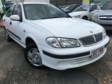2001 Nissan Pulsar N16 ST White 4 Speed Automatic Sedan Moorooka Brisbane South West Preview