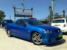 2010 Holden Ute VE II SV6 Blue 6 SPEED Semi Auto Utility Southport Gold Coast City Preview