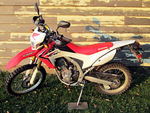 2014 Honda CRF250L, possible trade for DR650