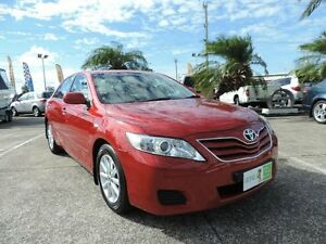 2010 Toyota Camry ACV40R MY10 Altise Red 5 Speed Automatic Sedan Caboolture Caboolture Area Preview