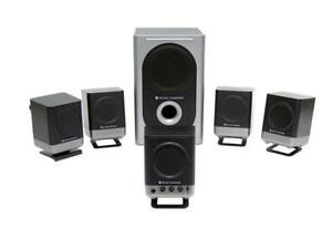PC Surround Sound 5.1 Speaker system + Subwoofer altec Lansing