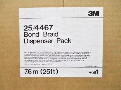 3m Grounding Braid With Insulating Sleeve 25 Dispenser Pack 254467 New