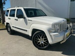 2010 Jeep Cherokee KK Sport Wagon 5dr Auto 4sp 4WD 3.7i [MY10] White Automatic Wagon Oxley Park Penrith Area Preview