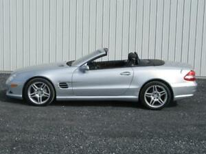 2007 MERCEDES BENZ SL550 AMG PACKAGE ***57 000 KM*